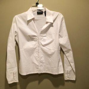 White New York and company blouse
